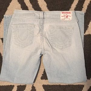 True Religion Capri Pants. Low rise.